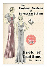 The Haslam System of Dresscutting No. 9 - 1930's - Copy