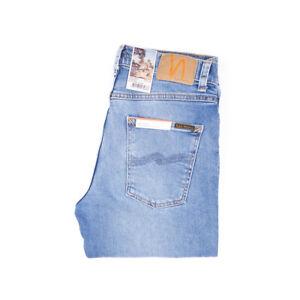 Nudie Jeans, Lean Dean, Indigo Salt, Blau, 113335, Slim, Tapered, Neu