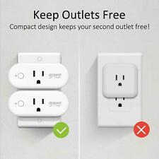 4 Pack Smart Plug 16A Wifi Outlet Work with Alexa Google Home Mini Socket