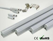 Sottopensile reglette barra led plafoniera tubo 60 cm 6500k luce fredda opaco