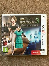 Style Boutique 3 Game for Nintendo 3DS