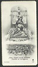 Estampa antigua de la Virgen de la Caridad Cartagena andachtsbild  holy card