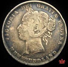 1882H Newfoundland 50 Cents - VG/F - Lot#1093