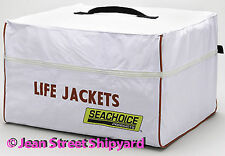 Marine Boat Safety 6 Life Preserver Jacket Vest Gear Storage Stoage Bag 20x18x12