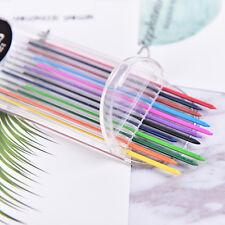 1 Box 2.0mm farbige Bleistift Refill Blei löschbar Student stationär  ^