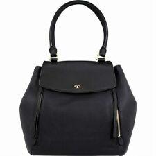 Tory Burch Women's Half-Moon Large Black Leather Women's Handbag - New