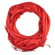 Écharpes et châles étole rouge pour femme