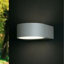 APPLIQUE ESTERNO 1 E27 LAMPADA DA ESTERNO ALLUMINIO LAMPADA PARETE MODERNA IP54