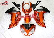 Fairing Kit for Kawasaki Ninja 650 ER6F ER-6F 2012 2013 2014 2015 Orange Black