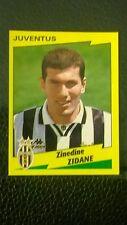 Zinedine Zidane Pegatina-panini calciatori 1996-97 Etiqueta-Perfecto Estado