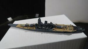 1:1200 Metal WWII Battleship