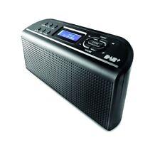 FM & DAB+ Digital Radio [Black] - Speaker Electronic, Alarm Clock Compact