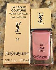 BNIB Yves Saint Laurent YSL #69 Love Pink Nail Polish Limited Edition