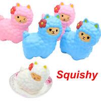 Jumbo Sheep Squishy Cute Alpaca Galaxy Super Slow Rising Scented Fun Animal Toys