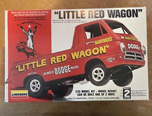 Lindberg Dodge Little Red Wagon 1/25 Scale Plastic Model Kit