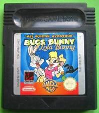 ★☆☆ Nintendo Gameboy Color - Bugs Bunny & Lola Bunny ☆☆★