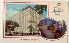 THE KAHLER HOTEL ROCHESTER, MN connected to Mayo Clinic