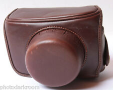 "Leather Eveready Camera Case - 3x3x4.5"" - USED F07P"