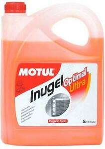 Motul Inugel Optimal Ultra Coolant Anti-Freeze 5L fits BMW 2 Series 218 d (F4...
