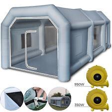8x4x3m Cabine De Peinture Gonflable Géant Tente pour Pulvérisation Voiture