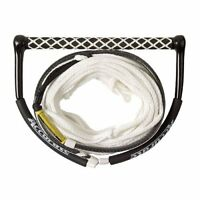 New Accurate Lines Apex Wakeboard Rope Handle Combo White