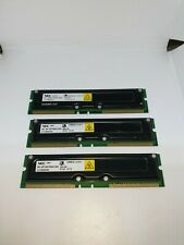 NEC MC-4R128CPE6C-845 3x 128MB Rambus Non ECC PC 800 800Mhz Memory (384MB Total)