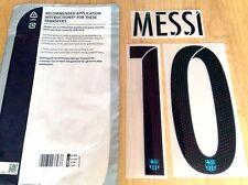 Niños 2015-16 Messi #10 la Liga 3rd lejos camiseta oficial sportingid nombre número Set