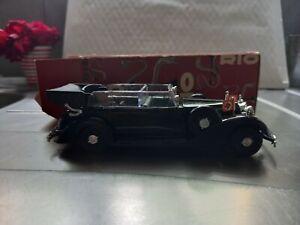 Rare Rio made in Italy Mercedes Personnelle de Hitler neuve avec boite