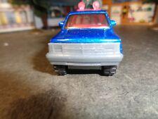 MATCHBOX  DODGE DeKota  PICKUP, METALLIC BLUE                1/63 SCALE  5-1-6