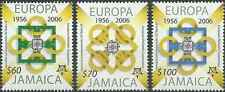 Timbres 50 ans de timbres Europa Jamaique 1081/3 ** année 2006 lot 10069