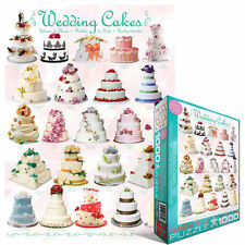 WEDDING CAKES 1000 PIECE JIGSAW PUZZLE EG60000434 - Eurographics