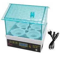 Mini incubatrice digitale automatica per 4 uova, 12 x 12 x 13