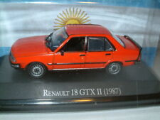 1/43 RENAULT 18 GTX II IN RED 1987