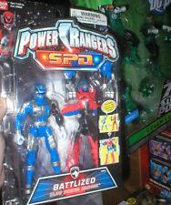 POWER RANGERS SPD BLUE BATTLIZED POWER RANGER, NEVER OPENED