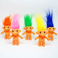 10Pcs/lot Random Dreamworks Trolls Movie Plush Dolls Poppy Cake Toppers