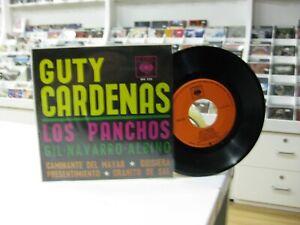 """GUTY CARDENAS LOS PANCHOS 7"""" EP MEXICO CAMINANTE DEL MAYAB + 3."""