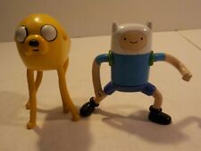 T Adventure Time Finn and Jake the Dog Action figure lot