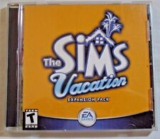 The Sims: Vacation - Expansion Pack (PC, 2002) In Jewel Case with CD Key