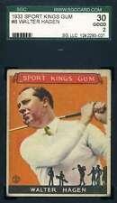 Walter Hagen SGC 30 Good 2 1933 Sports Kings