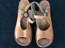 c6e8c6f1da9 Vintage Women s Leather Sandals- 1960 s 70 s
