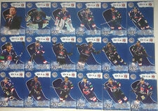 2014-15 MSC trading cards collection Governor Cup base 72 cards set + LOGO