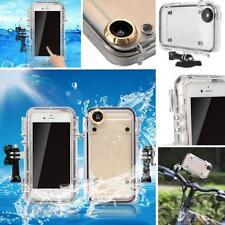 Waterproof Underwater Cover Protective Case for iPhone 6s/6 + GoPro Bike Mount