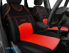 LAND ROVER FREELANDER FRONT SEAT COVERS VESTS T-SHIRTS ECO LEATHERS HIGH QUALITY