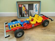 Lego Technic – 853 Car Chassis – Instructions – Complete - 1977 Vintage Set