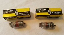 Two Zenith Radionic Tubes 6CL8A NOS in Box