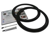 """15"""" Flat Attach Standard Speaker Repair Parts Woofer Foam Edge Kit # FSK-15F"""