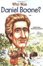 Who Was Daniel Boone? by Sydelle Kramer
