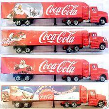1:87 COCA COLA Coke Winter X-MAS Christmas Snow TRUCK KENWORTH SEMI TRAILER NOS