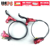 ZOOM HB875 MTB Bicycle Hydraulic Disc Brakes Front/&Rear Calipers Brake Adapter