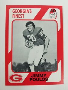 Jimmy Poulos Georgia Bulldogs UGA Dawgs 89 Collegiate Collection Towers High GA